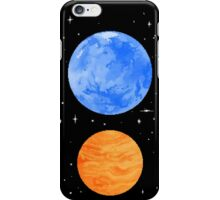 Opposite Planets iPhone Case/Skin