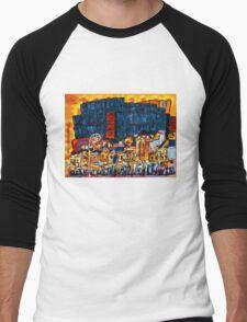 Parkgate Street II, Dublin Men's Baseball ¾ T-Shirt