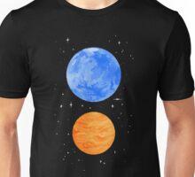 Opposite Planets Unisex T-Shirt