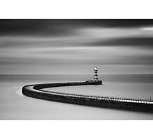 Roker Pier Photographic Print