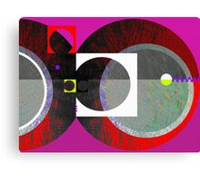 Undetermined Canvas Print