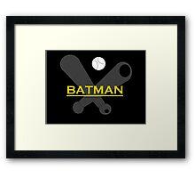 BATMAN BAT Framed Print