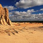 Vast Plains Of Lake Mungo by Stephen Ruane