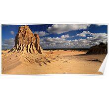 Vast Plains Of Lake Mungo Poster