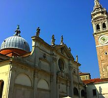 Cathedral with Dome and Tower by thetutor