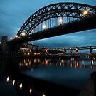 Tyne Bridge by Simon Marsden