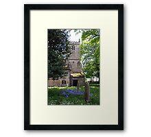Kirk Bramwith Church in Spring Framed Print