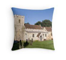 Brodsworth Church Throw Pillow