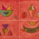 Kandinsky Shapes by Hilary Robinson