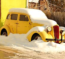Old 1934 Dodge abandoned in the snow by henuly1