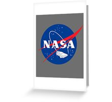 NASA Back 2 Future Greeting Card