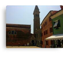 Venetian Bell Tower Canvas Print