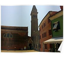Venetian Bell Tower Poster