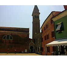 Venetian Bell Tower Photographic Print