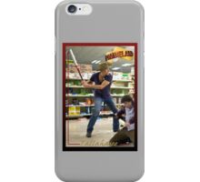 Tallahasee Baseball Card iPhone Case/Skin