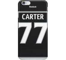 Los Angeles Kings Jeff Carter Jersey Back Phone Case iPhone Case/Skin