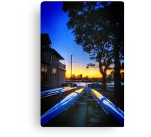 Keels to the sun Canvas Print