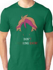 Michio Don't Know Unisex T-Shirt