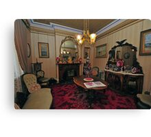 Victoriana, The Sitting Room Canvas Print