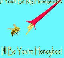 Honeybee by Edmond  Hogge