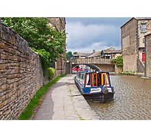 Skipton Canal Photographic Print