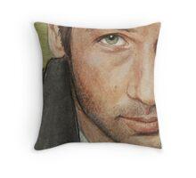 Fox Mulder Throw Pillow