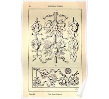A Handbook Of Ornament With Three Hundred Plates Franz Sales Meyer 1896 0076 Natural Forms Fruit Festoon Poster