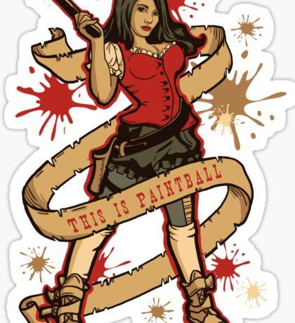 Annie Get Your Gun Sticker
