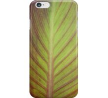 LEAF CLOSE-UP iPhone Case/Skin