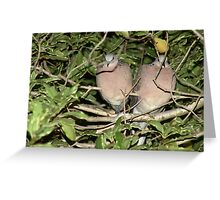 Two in a bush Greeting Card