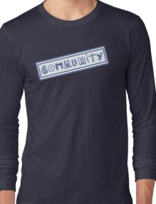 Community College Long Sleeve T-Shirt