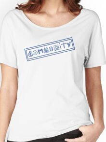 Community College Women's Relaxed Fit T-Shirt