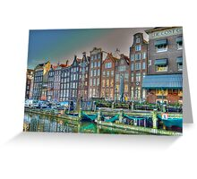Old Amsterdam Greeting Card