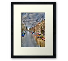 Sunday Afternoon in Amsterdam Framed Print