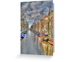 Sunday Afternoon in Amsterdam Greeting Card