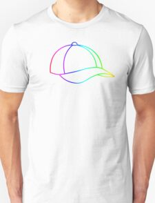 Rainbow Baseball Cap T-Shirt