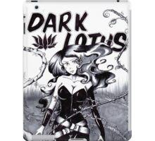 Bella Donna is Dark Lotus iPad Case/Skin