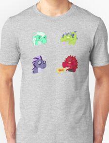 Cartoon Dragon heads T-Shirt