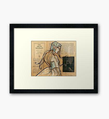 Iron Woman 10 Framed Print