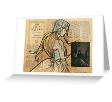 Iron Woman 10 Greeting Card