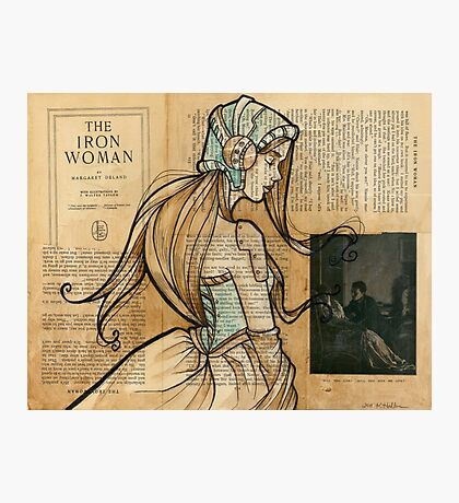 Iron Woman 10 Photographic Print