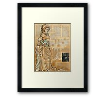 Iron Woman 12 Framed Print
