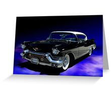 1957 Cadillac Presidential Inaugural Vehicle Greeting Card