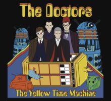 The Yellow Time Machine Baby Tee