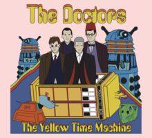 The Yellow Time Machine Kids Tee