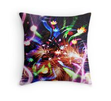 Beautiful Explosion Throw Pillow