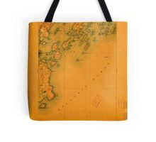 Maine USGS Historical Map Casco Bay 807435 1893 62500 Tote Bag