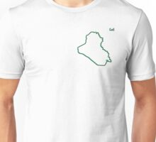 """Iraq """"Citizen of the Earth"""" small Unisex T-Shirt"""