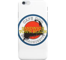 Sandwich Town Beach - Cape Cod Massachusetts iPhone Case/Skin
