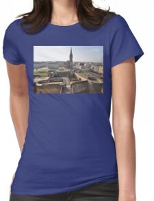 William The Conqueror's Home, Caen, France 2012 Womens Fitted T-Shirt